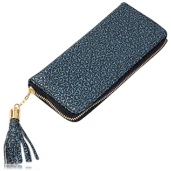Jessica - 11 Color Leather Variants  Long  Design Clutch Lady Wallet  Purse - LA MIA CARA JEWELRY - 9