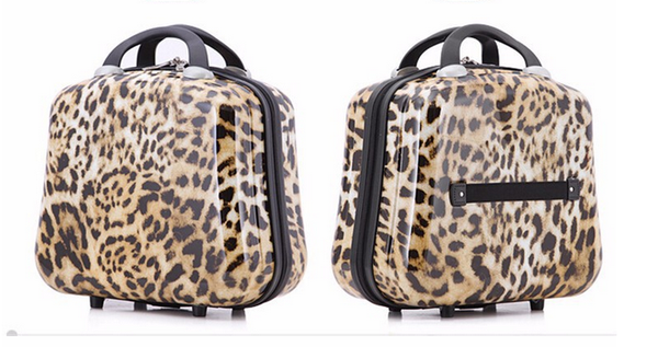 Imogen - Leopard Printed Travel Suitcases On Wheels - LA MIA CARA JEWELRY - 5