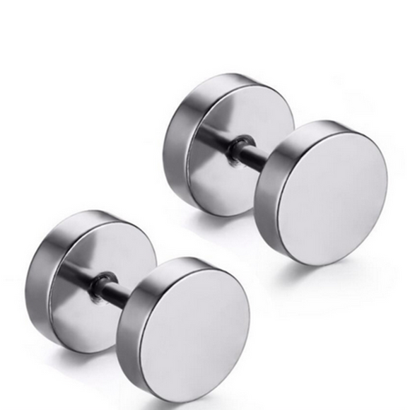 Marco - Stainless Steel Stud Earrings - LA MIA CARA JEWELRY - 1