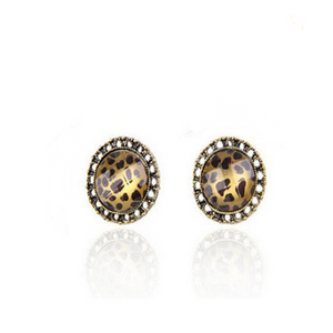 Modello Leopardo - Stud Earrings - LA MIA CARA JEWELRY