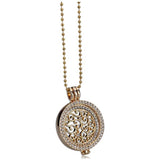 Moneta - Rhinestone Crystal Gold / Rose Gold / Silver Necklace - LA MIA CARA JEWELRY - 3