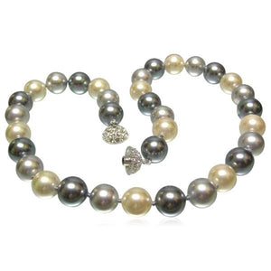 Perla Mitico - Multicolor Shell Pearl Necklace - LA MIA CARA JEWELRY