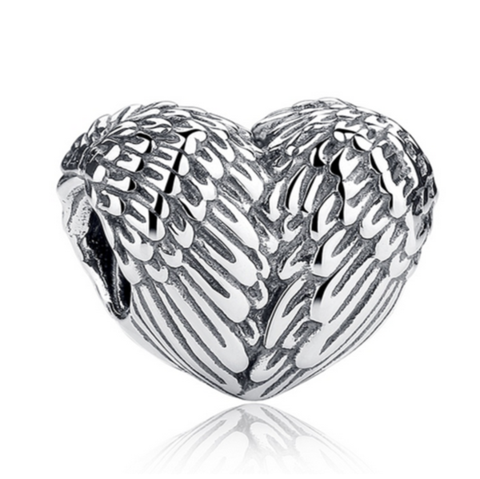 Principessa Charm - 11 Variants of  Unique CZ Diamonds Sterling Silver Heart  Charm - LA MIA CARA JEWELRY - 7