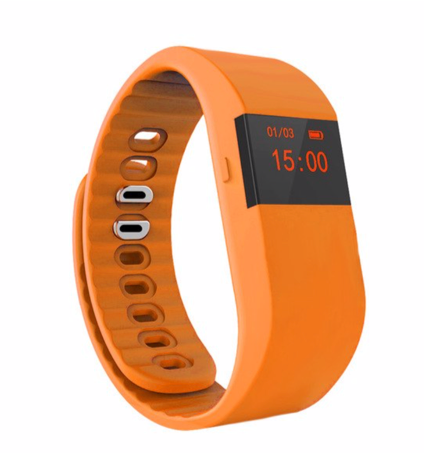 La Mia Cara Jewelry & Accessories - FUNKY ORANGE WEDOBE M5 - The Smart Health Check Wrist Watch