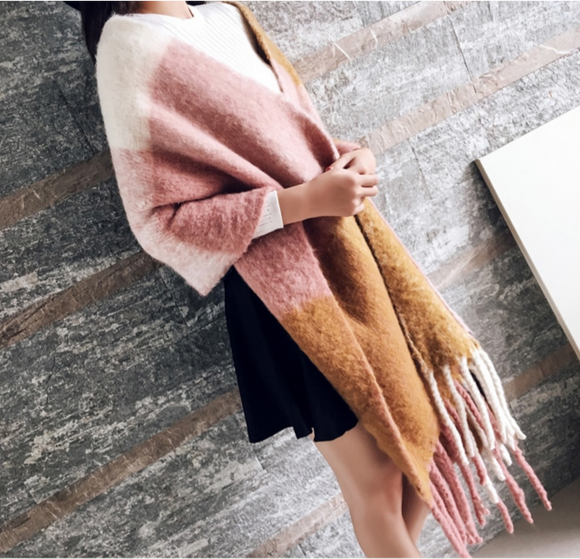 LA MIA CARA - Cuddly - Soft Long Scarf
