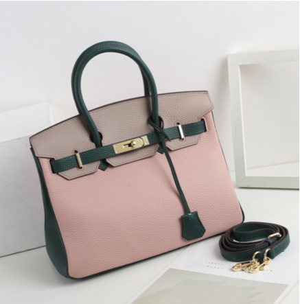 La Mia Cara - Aria - Rose Genuine Leather Shoulder Bag