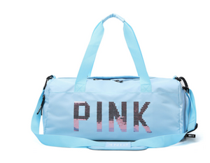 La Mia Cara - Blue Pink Settimana - VIP High Quality Gym Bag
