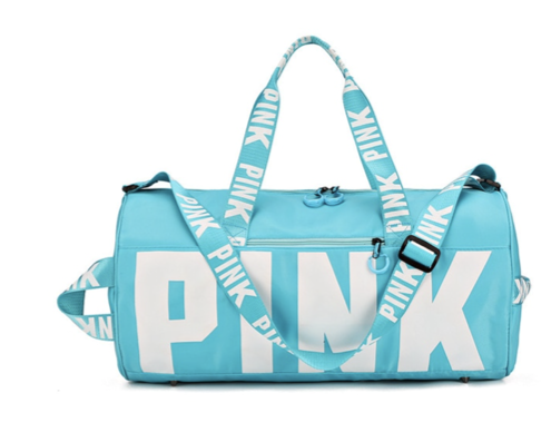 La Mia Cara - Sky Pink Settimana - VIP High Quality Gym Bag