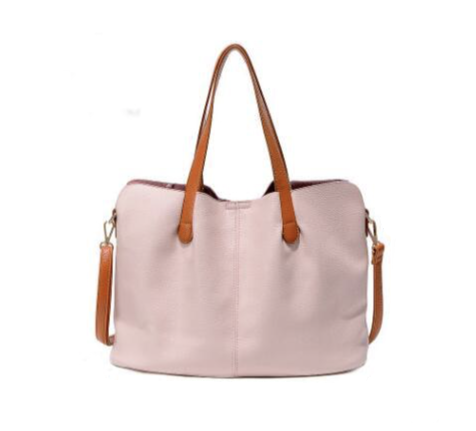 La Mia Cara - Pink Ciceroni - Luxury Genuine Leather Messenger Bag