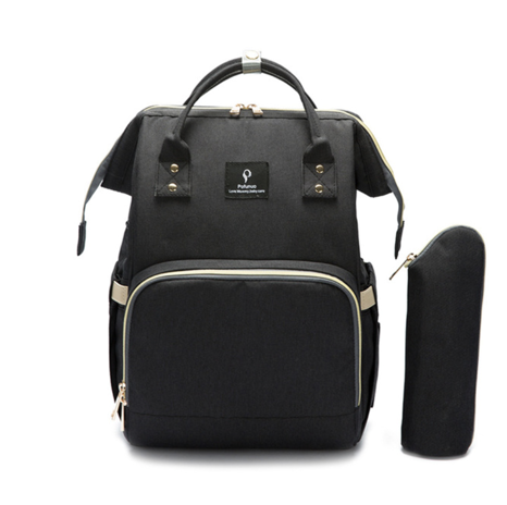 La Mia Cara  - Black MamaMia - Kits Travel Backpack with USB phone charge interface
