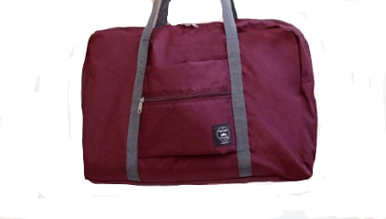 La Mia Cara  - Claret Bagaglio Supplementary - Large Capacity Nylon Foldable Travel Bag