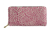 La Mia Cara Jewelry - Bijou - Pink Pattern Leather Leopard Print Lady Clutch