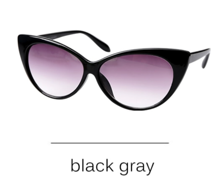 La Mia Cara - Presbyopic Berlin Black Gray- Cat Eye Anti Blue Light Reading Glasses
