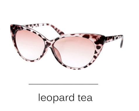La Mia Cara - Presbyopic Berlin Leopard Tea- Cat Eye Anti Blue Light Reading Glasses