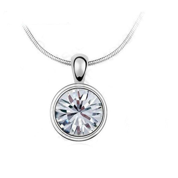 La Mia Cara Jewelry - AMELI - Trendy Crystal Jewelry Pendant Necklace