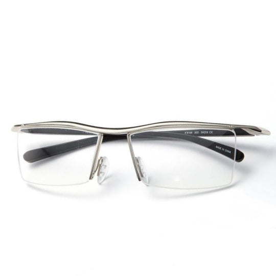 La Mia Cara  - Pisa Silver -  Reading Glasses for  Men