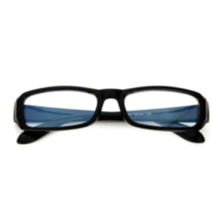 La Mia Cara Jewelry - Antwerp Matte Black- Radiation Resistant Computer Glasses Anti Fatigue Men / Women