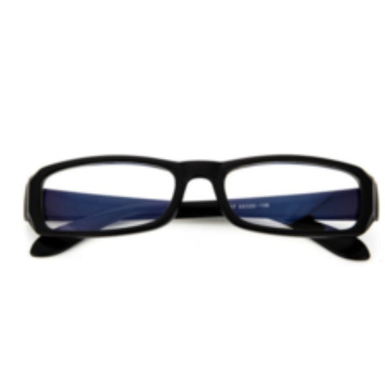 La Mia Cara Jewelry - Antwerp Bright Black - Radiation Resistant Computer Glasses Anti Fatigue Men / Women