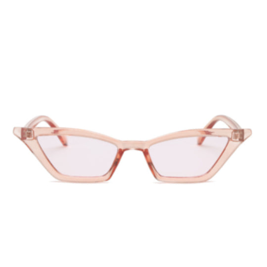 LA MIA CARA - COCO PINK - ELEGANT 50S VINTAGE WOMENS FASHION CAT EYE SUNGLASSES