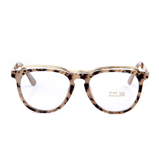 La Mia Cara Jewelry - Düsseldorf Leopard - Cat Eye Business Classic Frame for Bifocal