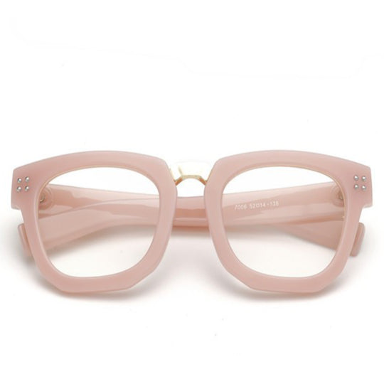 La Mia Cara Jewelry & Accessories - ASTORIA PINK - WOMEN'S DESIGNER SUPER BOLD GLASSES
