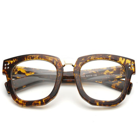 ASTORIA BROWN - WOMEN'S DESIGNER SUPER BOLD GLASSES