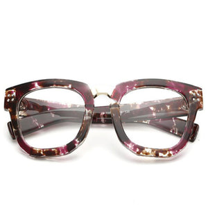 La Mia Cara Jewelry & Accessories - ASTORIA PURPLE - WOMEN'S DESIGNER SUPER BOLD GLASSES