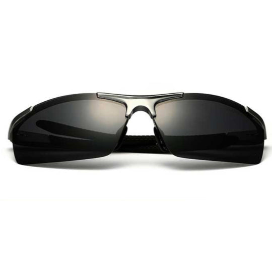 La Mia Cara  - Monaco Grey - Classic Aluminum Mirror Driving Sun Glasses for Men