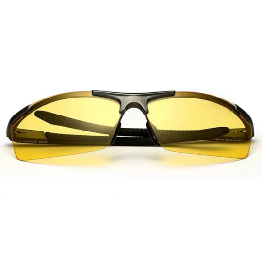 La Mia Cara  - Monaco Night - Classic Aluminum Mirror Driving Sun Glasses for Men