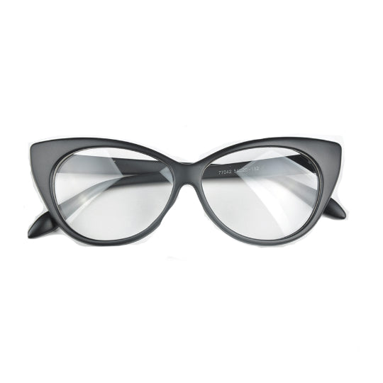 La Mia Cara - Mate Black Berlin - Spectacle Cat Eye Optical Glasses