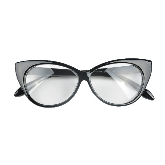 La Mia Cara - Black Berlin - Spectacle Cat Eye Optical Glasses