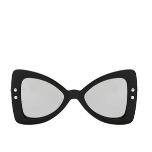 LA MIA CARA - FERRARA - GREY SUPER FUN OVERSIZE BOW TIE SUNGLASSES