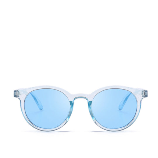 La Mia Cara  - MODENA - BLUE RETRO 1950'S FESTIVAL COLORFUL PANTONE TRANSLUCENT SUNGLASSES