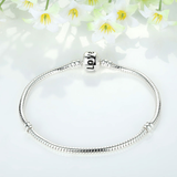 La Mia Cara Jewelry - Sempre Love - Bangle Bracelets for Pandora Charms