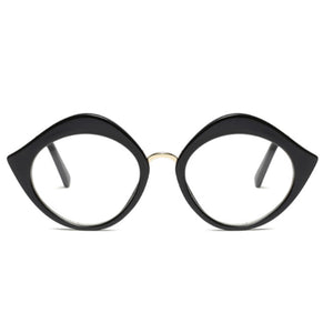 La Mia Cara - Miao Black - Oversize Optical Glasses