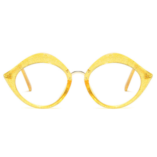 La Mia Cara - Miao Yellow - Oversize Optical Glasses