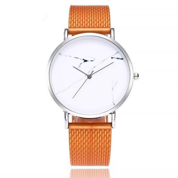 LA MIA CARA  - COLORIE - LUXURY FASHION CASUAL BROWN QUARTZ WATCH