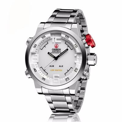 La Mia Cara Jewelry & Accessories -  Emilio SW- Steel Sports Wrist Watch