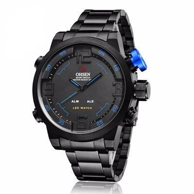 La Mia Cara Jewelry & Accessories -  Emilio BB- Steel Sports Wrist Watch