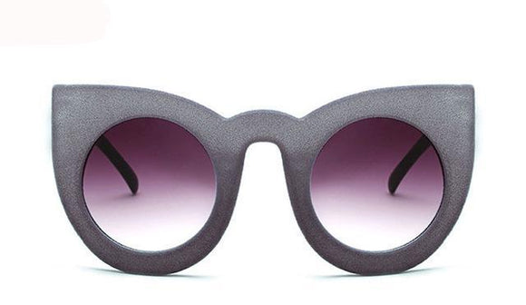 La Mia Cara - Milao Silver - Velvet Cat Eye Sunglasses UV400