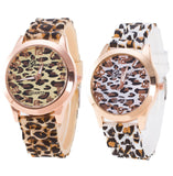 La Mia Cara Jewelry - Farina - White Charming Leopard Watch