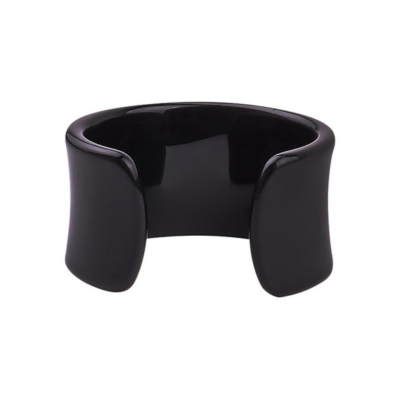 La Mia Cara Jewelry & Accessories - Iwona - Black Resin Colorful Love Bangle
