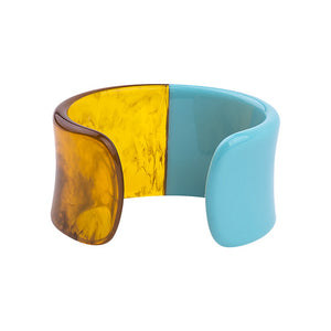 La Mia Cara Jewelry & Accessories - Iwona - Resin Colorful Love Bangle