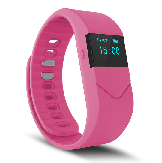 La Mia Cara Jewelry & Accessories - FUNKY PINK WEDOBE M5 - The Smart Health Check Wrist Watch