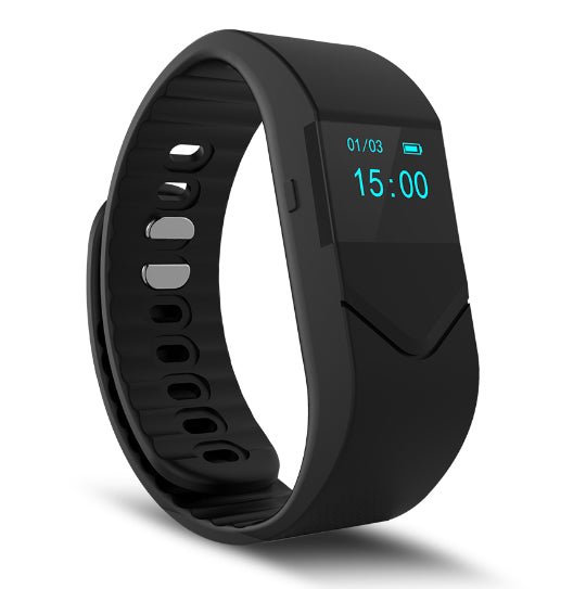 La Mia Cara Jewelry & Accessories - FUNKY BLACK WEDOBE M5 - The Smart Health Check Wrist Watch