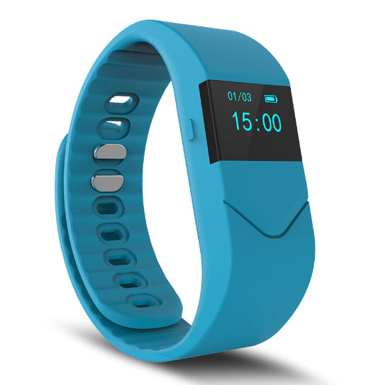 La Mia Cara Jewelry & Accessories - FUNKY BLUE WEDOBE M5 - The Smart Health Check Wrist Watch