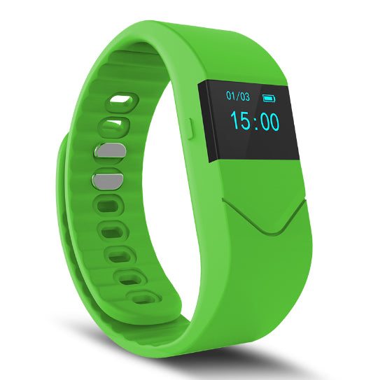 La Mia Cara Jewelry & Accessories - FUNKY GREEN WEDOBE M5 - The Smart Health Check Wrist Watch