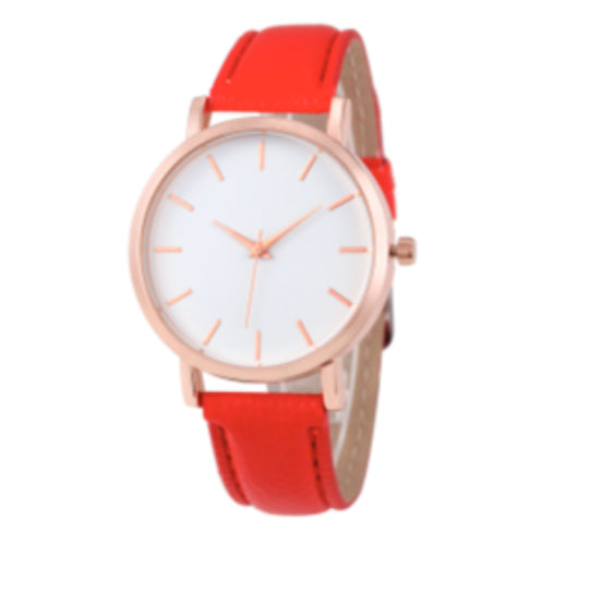 La Mia Cara Jewelry - Femmina Collection Red - Luxury Fashion Casual Quartz Watch