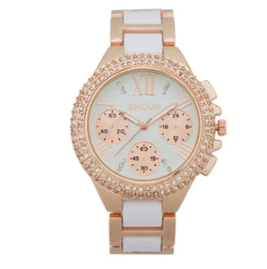 La Mia Cara Jewelry - Franchesca - Crystal Silicon Sparkling Watch