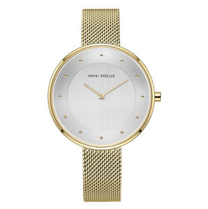 La Mia Cara Jewelry - Minifocus - Minimalist Mesh Elegant Watch for Ladies